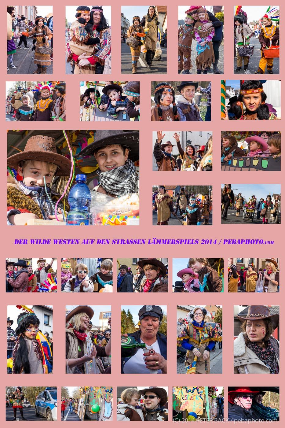 20140311 Poster 50x75 29 Bilder - Fastnachtszug Kita 20140304-1